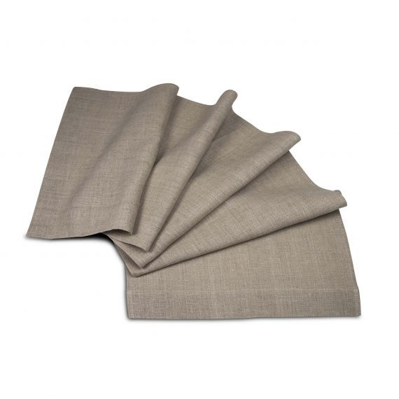 Linen Table Runner Lesna Natural