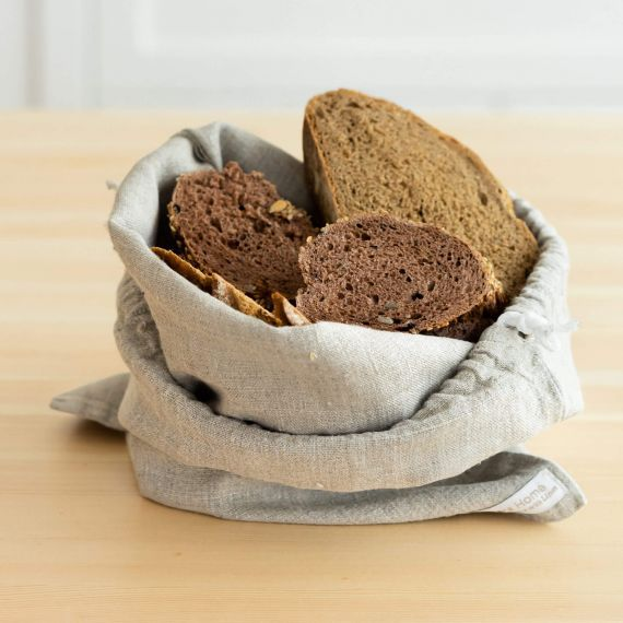 Brotbeutel & Brotsack Bio Leinen