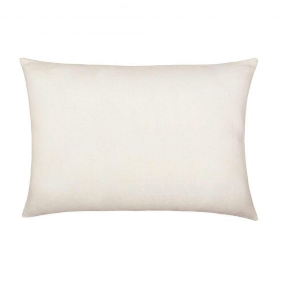 Linen Pillowcase Welna White