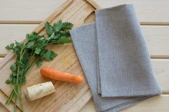 Linen towels are the best choice for your kitchen