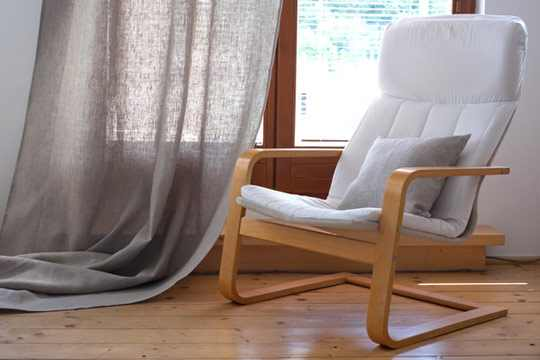 Why are linen curtains good for you?