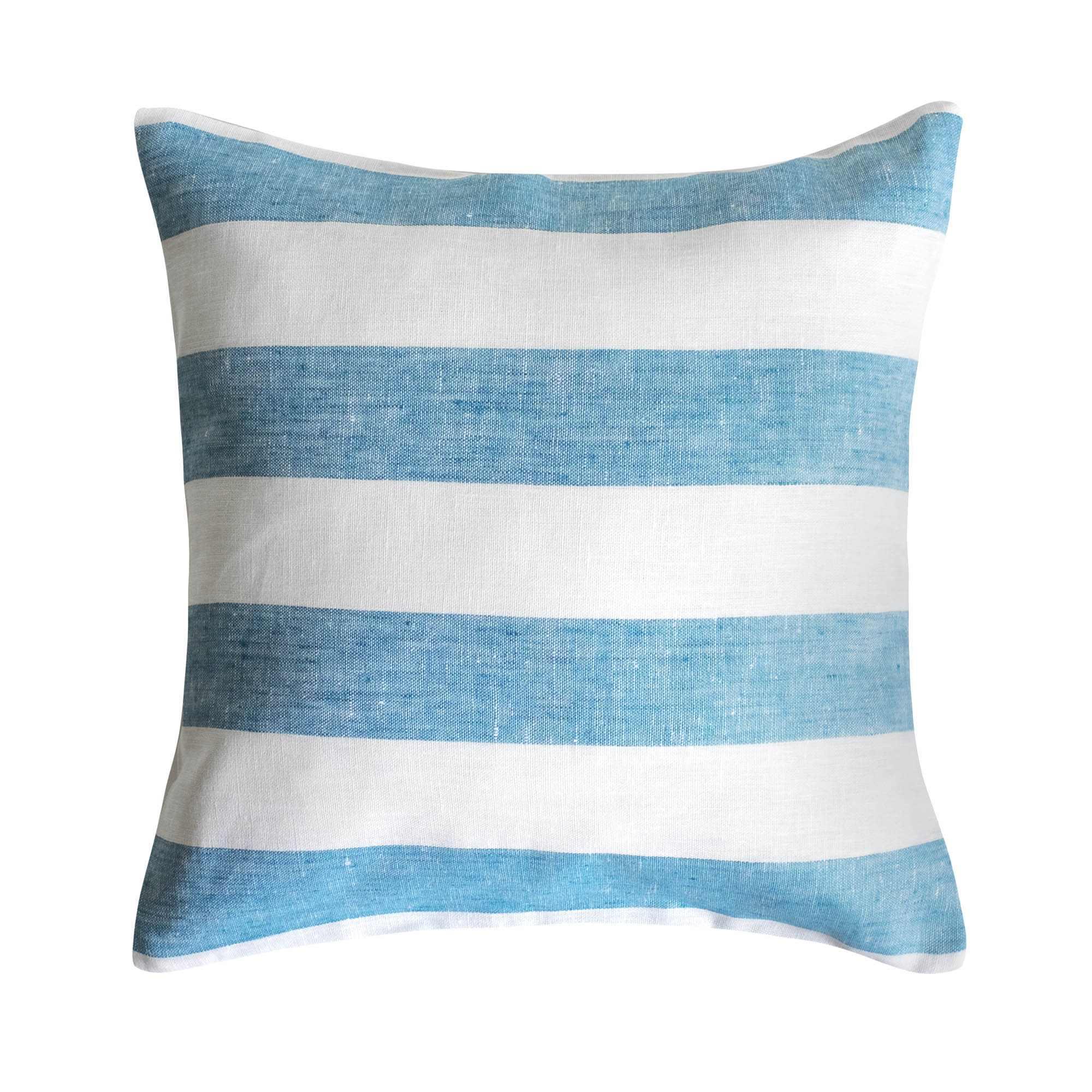 leinen kissenbezug rissa meerblau. Black Bedroom Furniture Sets. Home Design Ideas